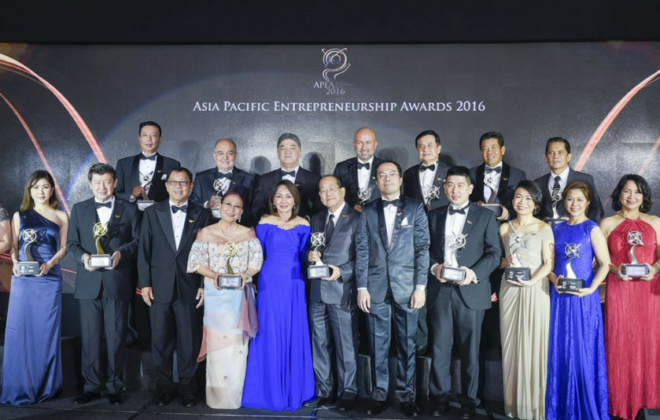 Asia Pacific Entrprenuer Awards 2016 - Beautypreneur